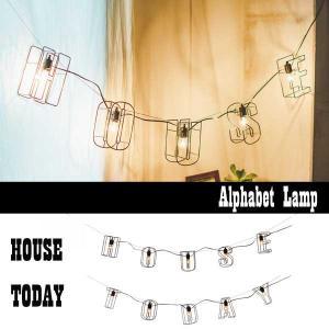 ランプ 壁掛け照明 アルファベット HOUSE TODAY 送料無料 arne-rack