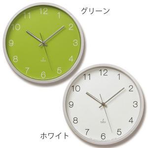 掛け時計 レムノス 電波 北欧 カフェ シンプル 壁掛け時計 おしゃれ 電波掛時計 アナログ Basic clock PC06-25W Lemnos|arne-rack