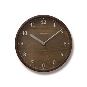 時計 壁掛け時計 壁掛け スイープムーブメント インテリア 雑貨 ウォールクロック アナログ時計 ブラウニー Brownie PC07-04S 掛け時計 レムノス