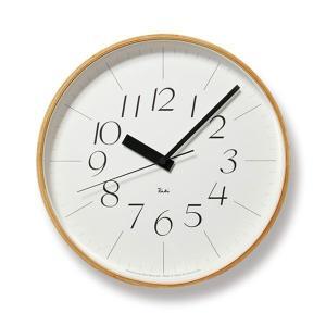掛け時計 壁掛け時計 スイープムーブメント おしゃれ 電波掛時計 アナログ時計 シンプル電波時計 リキクロック RIKI CLOCK RC WR08-26 Lemnos レムノス|arne-rack