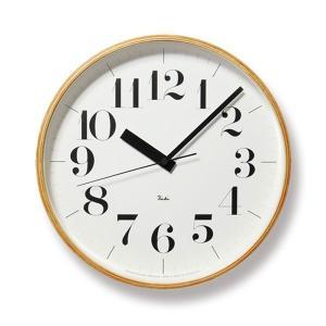 掛け時計 壁掛け時計 スイープムーブメント おしゃれ 電波掛時計 アナログ時計 電波時計 リキクロック RIKI CLOCK RC WR08-27 Lemnos レムノス|arne-rack