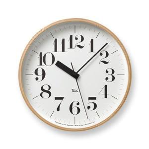 壁掛け時計 おしゃれ 電波掛時計 アナログ時計 シンプル電波時計 リキクロック RIKI CLOCK RC WR07-11 Lemnos レムノス ナチュラルなインテリア雑貨|arne-rack