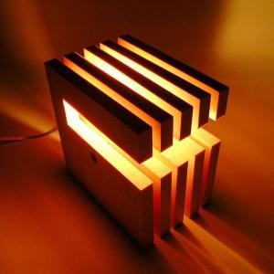 アジアン雑貨 フロアライト L-wich エルウィッチ ナチュラル/ダークブラウン DS-018 木製 和風 間接照明 フロアランプ 照明器具 インテリア|arne-rack