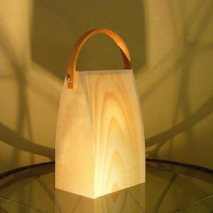 間接照明 おしゃれ 人気 アジアン 照明機具 和風 床照明 フロアランプ 雑貨 インテリア バッグ型フロアライト akari bag DS-016|arne-rack