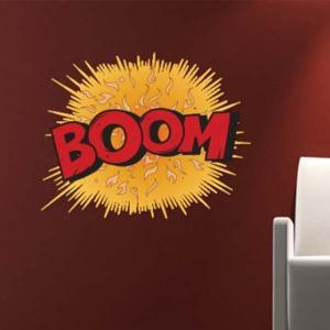 壁 ステッカー ウォール 漫画 おしゃれ 壁面装飾 Comic Book Wall Stickers BOOM|arne-rack