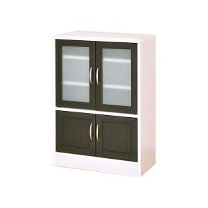 食器棚 ミニ 幅60 カップボード ロータイプ 北欧 カフェ おしゃれ モダン キッチンボード 薄型 スリム|arne-rack