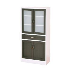 カップボード モダン 食器棚 北欧 カフェ ミニ食器棚 幅約60 おしゃれ|arne-rack