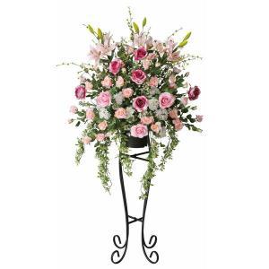 造花 ニコルローズスタンド 光触媒 観葉植物 インテリア 人気 おしゃれ 造花 アートフラワー ギフト 花|arne-rack