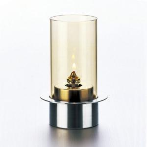 ランプ オイルランプ テーブルランプ OL-871-100H Stainless アンバー|arne-rack