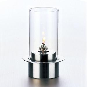 ランプ オイルランプ テーブルランプ OL-871-100C Stainless クリア|arne-rack