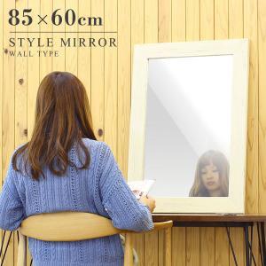 全身鏡 壁掛け 白 木枠 壁掛けミラー 玄関 洗面鏡 木 ウッド ウォールミラー ホワイト arne style WM4570|arne-sofa