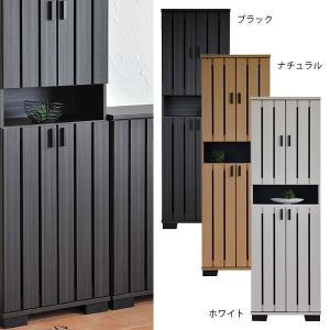 玄関収納 下駄箱 大容量 シューズボックス 大容量 ハイタイプ 和風 モダン 日本製 キャビネット 幅約60cm|arne-sofa