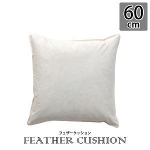 ヌードクッション クッション 中身 中材 フェザー 60×60 フェザークッション 60×60cm 圧縮 arne-sofa