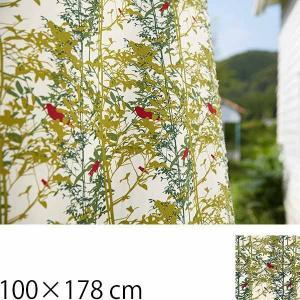 カーテン 北欧  おしゃれ カフェ インテリア 植物柄 A Walk in the Woods 巾100×178cm クォーターリポート QUARTER REPORT|arne-sofa
