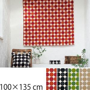 カーテン 北欧 かわいい ドット柄 巾100×135cm クォーターリポート QUARTER REPORT|arne-sofa