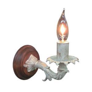 ブラケットライト 照明 アンティーク ブラケットライト 1灯 レトロ ライト おしゃれ インテリアライト 壁掛け照明 照明器具 ウォールランプ FC-WW693R|arne-sofa