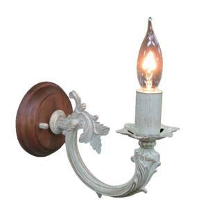 ブラケットライト 照明 アンティーク ブラケットライト 1灯 レトロ ライト おしゃれ インテリアライト 壁掛け照明 照明器具 ウォールランプ FC-WW458R|arne-sofa