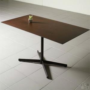 ダイニングテーブル 北欧 ウォールナット おしゃれ ミッドセンチュリー カフェテーブル Bistro ハイタイプ 110HT Type2|arne-sofa