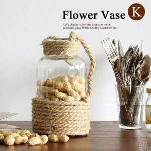 花瓶 ガラス おしゃれ アンティーク フラワーベース シンプル ガラスボトル 北欧 小物入れ ディスプレイ雑貨 Flower Vase-K|arne