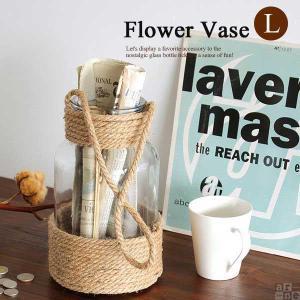 花瓶 ガラス おしゃれ アンティーク フラワーベース シンプル 花瓶 ガラスボトル 北欧 小物入れ ディスプレイ雑貨 Flower Vase-L|arne