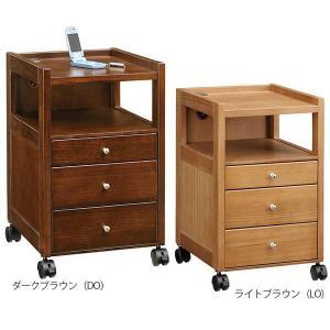 ナイトテーブル コンセント ベッドサイドテーブル サイドテーブル キャスター付き 木製 おしゃれ|arne