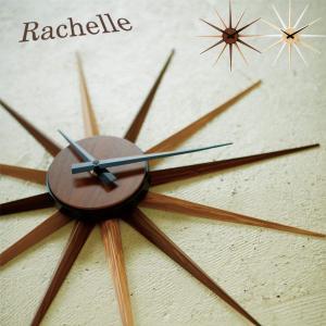 掛け時計 壁掛け時計 CL-7989 ウォールクロック RACHELLE ラシェル 壁時計 時計 クロック ブラウン/ナチュラル|arne