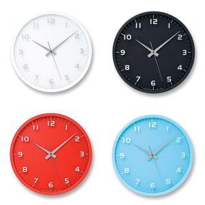 掛け時計 スイープムーブメント レムノス 電波 北欧 カフェ おしゃれ 電波掛時計 Lemnos 置き掛け兼用時計 nine clock ナインクロック LC08-14W arne