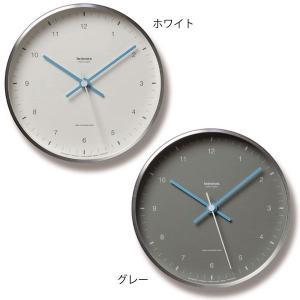 掛け時計 レムノス 電波 北欧 カフェ 電波時計 Lemnos 置き掛け兼用時計 MIZUIRO ミズイロ LC07-06 arne