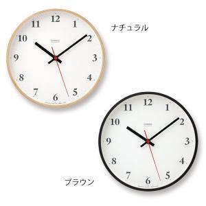 壁掛け時計 おしゃれ 電波時計 アナログ時計 シンプルな電波掛け時計 スイープムーブメント プライウッドクロック Plywood clock LC10-21W ナチュラル/ブラウン arne