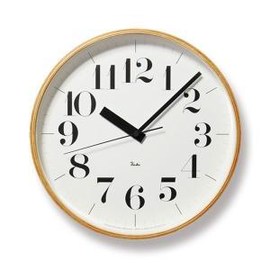 掛け時計 壁掛け時計 スイープムーブメント おしゃれ 電波掛時計 アナログ時計 電波時計 リキクロック RIKI CLOCK RC WR08-27 Lemnos レムノス arne