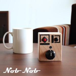 ボイスレコーダー 小型 子供 木製 おしゃれ アメリカン雑貨 北欧 インテリア かわいい ノブノブ Nob Nob arne