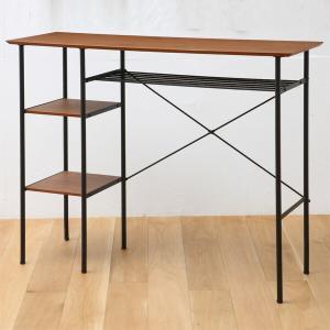 パソコンデスク スチール スリム キッチン ハイカウンター テーブル おしゃれ ANT-2399 anthem Counter Table|arne