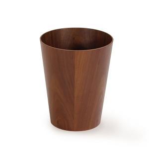 ゴミ箱 おしゃれ リビング ごみ箱 ダストボックス 木製 SAITO WOOD 901WN 上開きウォールナット(S)|arne