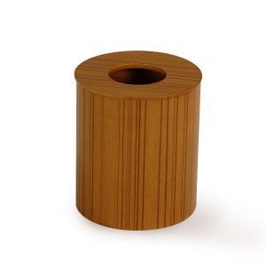 ゴミ箱 おしゃれ カフェ 木製 リビング 寝室 オフィス ミッドセンチュリー サイトーウッド 951 ドーナッツ蓋(M) チーク|arne