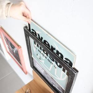 絵画 木製フレーム レコードジャケットフレーム...の詳細画像1
