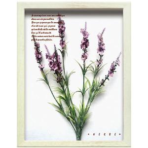 造花 アートフラワー パネル 観葉植物 カフェ 壁掛け ラベンダー ハーブ おしゃれ フェイクグリーン インテリア アートパネル ナチュラル ウォールデコ ギフト arne