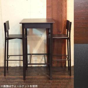 カウンターテーブルセット ダイニングチェア 2脚 ウォールナット ハイテーブル ダイニングテーブル 3点セット Resort|arne