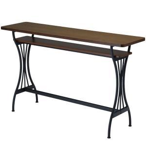 ハイカウンターテーブル カウンターテーブル バーテーブル おしゃれ アンティーク  カフェ テーブル AT-154CT Brno|arne