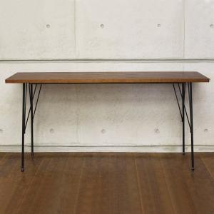 カフェテーブル 幅150cm パソコンデスク おしゃれ 北欧 木製 シンプル アンティーク アイアン テーブル Brno|arne