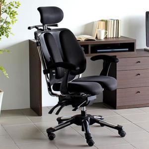 パソコンチェア オフィスチェア メッシュ 多機能 肘付 腰痛 おすすめ デザインチェア 赤 HARA Chair ハラチェア Super Nietzsche II