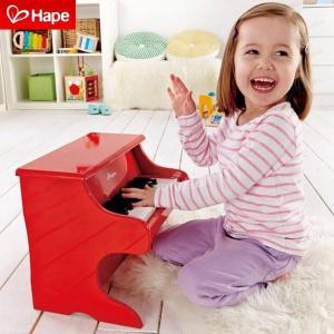 ピアノ おもちゃ 幼児用 トイピアノ 楽器 玩具 E0318 Hape  プレイフルピアノ 送料無料|arne