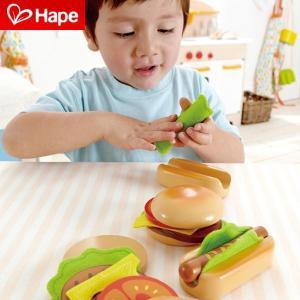 ごっこ 遊び おもちゃ お店屋さん 玩具 ごっこ遊び オモチャ 子供 キッズ E3112 ハンバーガー&ホットドック|arne
