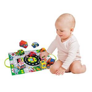 赤ちゃん 音の出る おもちゃ 6ヶ月 玩具  おでかけ 車  TYKK10665 カーズ・イン・タウン|arne