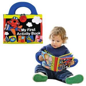 布絵本 音の出る おもちゃ 赤ちゃん おでかけ 知育 TYKK10666 ファースト・アクティヒ゛ティー・フ゛ック|arne