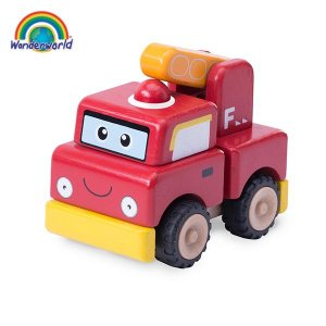 ミニカー おもちゃ 1歳 知育玩具 ギフト 消防車 TYWW...