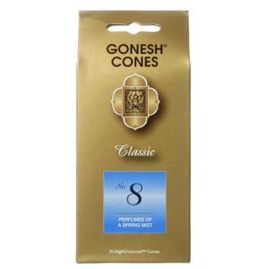 GONESH No.8 お香コーン 25ヶ入 クラシック