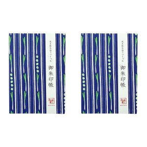 WAFUKA 御朱印帳 ネギストライプ TGI-001 2個セット 日本国内正規品 【 ご朱印帳 風...