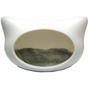 ねころん【しろ】 犬 イヌ 猫 ネコ ベッド (OFT)|aroma-etoile