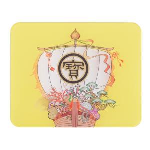 かわいい、おしゃれな印鑑マット【宝船】コンパクトサイズ 100mm×80mm aroma-etoile