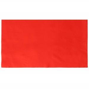 高級 日本製 毛氈 赤 約 90cm×180cm 毛せん 緋毛氈 (ドライクリーニング可能) aroma-etoile